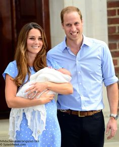 Duchess Kate: Proud Parents William and Kate Present Their Son To The World!