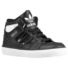buy popular 69161 32cbb n2sneakers - adidas Originals Hard Court Hi 2 Boys Toddler BlackRunning  White,