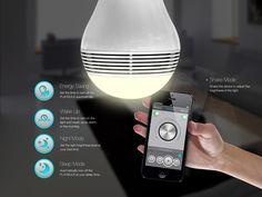 De Mipow PlayBulb is een premium ledlamp voorzien van draadloze 4.0 speaker. De geavanceerde akoestische technologie levert een helder en groots geluid.  Compatibel met de meeste Bluetooth draadloze apparaten. http://www.klasse.eu/Mipow/Mipow-PlayBulb-ledlamp-speaker