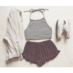 Id probably pick different shoes, but cute outfit!