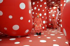 Kusama in Dots Obsession, Watari Museum of Contemporary Art, Tokyo, 2011. Collection Yayoi Kusama. Image courtesy