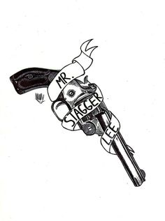 Tattoo design - Stagger Lee // Murder Ballads // Nick Cave & the bad seeds by Marina Morales