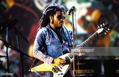 Lenny Kravitz during 1993 MTV Video Music Awards in Los Angeles, California, United States.
