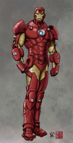 Ironman Sketch by =Fastfood