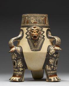 "tlatollotl:  "" Effigy Vessel, Nicoya culture, Costa Rica, 1000-1350CE.  """
