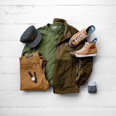 Henley: 2XIST // Jacket: Buffalo Jackson // Pants: FNL Denim (similar) // Hat: Elusive Society // Watch: Vaer // Sneakers: Colchester Rubber Co. // Custom Insoles: Wiivv // Socks: Lucky Brand