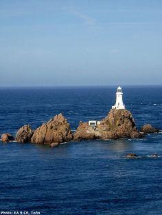 Corbiere Lighthouse, Isle of Jersey, Channel Islands, UK