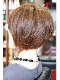 可愛すぎる♥前下がりショート・ボブ♥2018 髪型画像まとめ - NAVER まとめ