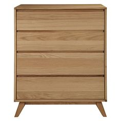 Buy House by John Lewis Stride 4-drawer Chest Online at johnlewis.com