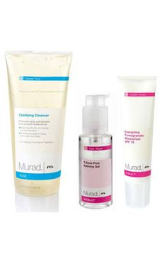 This three-step regimen – which includes a Clarifying Cleanser, Post Acne Spot Lightening Gel, and Energizing Pomegranate Moisturizer – works together to fade dark spots and zap zits before they start. The kickass system hinges on its skin-saving ingredients: pore-clearing salicylic acid, exfoliating alpha hydroxy acid, and skin lightening hydroquinone. Murad Post Acne Marks Kit, $94, murad.com  -Cosmopolitan.com