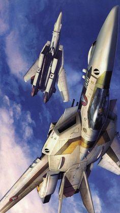 ♂ aircraft Macross, valkyrie, robotech, fokker, artwork,