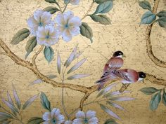 chinoiserie by Paul Montgomery studios Et Wallpaper, Chinese Wallpaper, Chinoiserie Wallpaper, Chinoiserie Chic, Painting Wallpaper, Wallpaper Backgrounds, Wallpapers, Oriental, Bird Prints