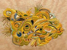 Pascal Jaouen embroidery