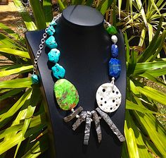 If you like any of these pieces - you will have to get yourself a ticket to Germany, to Ulm to be precise. If you are looking for an easier way to get your Xmas gifts - go to www.luka.com and order online!  #statement necklaces, #designer jewellery, #unique jewellery, #handcrafted jewellery, # bespoke jewellery
