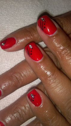 The Mobile Manicurist: Simple Nail Art