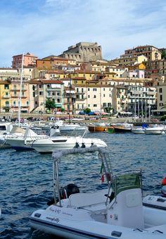 Porto Santo Stefano on the Tuscan coast.