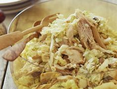 Rachael Ray's Millionaire Rotisserie Chicken Salad- this is really an amazing salad!