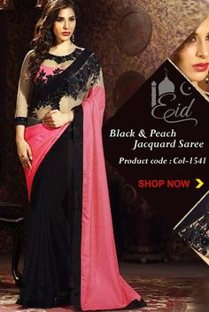 Mesmerize all onlookers with this resplendent peach pure georgette saree. This beautiful ensemble is exactly what you need for festive occasions, wedding receptions and cocktail parties. This high fashion ensemble comes with a fine jacquard, net and chiffon blouse and is exquisitely embroidered for that complete desi look.