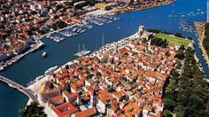 Trogir The medieval town center of Trogir is a UNESCO World Heritage Site. Its rich culture stems from Greek, Roman and Venetian influences...