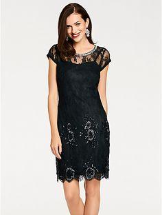 Fancy Ashley Brooke by heine Abendkleid Zierperlen rot im heine Online Shop Jetzt g nstig