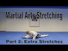 Flexibility for Martial Arts Tutorial Part 2 (Get High Kicks/Splits)