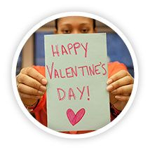 Spread the love by sending a Valentine's Day card to an older adult in need. If you're a teen/young adult you can even win a college scholarship for doing so!