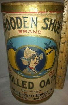 Wooden Shoe brand Rolled Oats