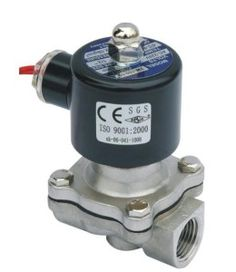 "This versatile Stainless, 1/2"" NPT Solenoid Valve can be used in your brew system with water, wort or LP.  It can be used up to 248 deg F and can withstand up to 120 PSI (when used with air or wate..."