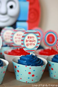 Love Of Family & Home: Thomas The Train Birthday Party