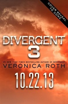 Divergent #3 - A must read this year!!!!!