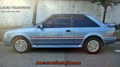 Registros Automotivos do Cotidiano: Ford Escort XR3 Fórmula 1991