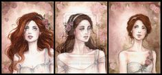 Rose Garden ACEO by Achen089.deviantart.com on @deviantART