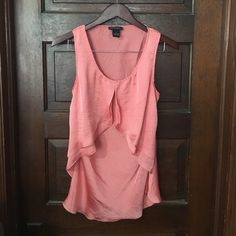 Coral Tank Silky feel, coral tank. Spense Tops Camisoles