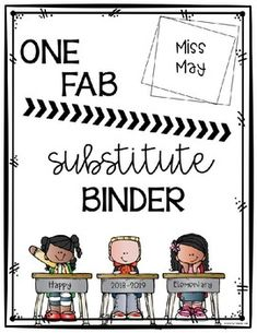 This FAB sub binder is a must-have. These editable forms are perfect to have handy for your substitute. These forms are available for your sub all in one spot! The idea of having this binder handy eliminates the stress of when calling in sick. Being out as a teacher