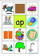 Free Printable CVC images and fill in the blanks: Cvc Words - Phonics Word Families - 200 Consonant Vowel Consonant Word Family Cards - K-3 Teacher Resources
