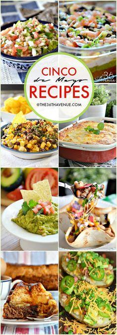 Cinco de Mayo Recipes the36thavenue.com