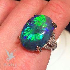 Check this stunning vintage opal ring by @katherinejetter via @jewelsdujour #purplebyanki #love #instagood #beautiful #diamond #finejewellry #highjewellry #vintage #ring #opal