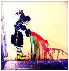 banksy melbourne graffiti