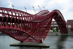 Amsterdam dragon bridge - I lived just opposite :)