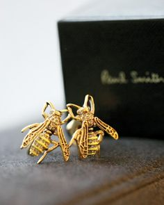 Gilded Bee Cufflinks | Paul Smith