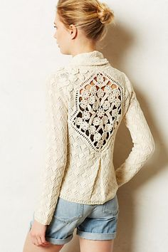 crocheted open back cardigan http://rstyle.me/n/ievyrr9te