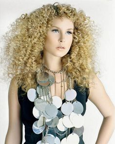 Tight Spiral Perm Hairstyle