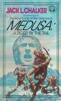 Book Covers: MEDUSA: A TIGER BY THE TAIL by Jack L. Chalker
