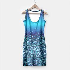 Elegant Blue Frost Sparkle Simple Dress 4, Live Heroes Simple Dresses, Frost, Fit Women, Athletic Tank Tops, Sparkle, Elegant, Live, Stylish, Casual
