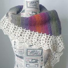 Ravelry, #crochet, free pattern, harvest shawl, wrap, shawl in two sizes, #haken, gratis patroon (Engels), twee maten, omslagdoek, #haakpatroon