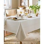 "Waterford Table Linens, Addison 70"" x 84"" Tablecloth"