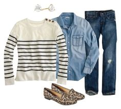 4.9.13 by oregonmiss on Polyvore featuring J.Crew and Mossimo