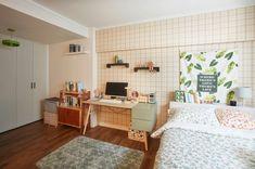 simple bedroom decor – Homes Tips Simple Bedroom Decor, Room Ideas Bedroom, Small Room Bedroom, Korean Apartment Interior, Room Interior, Korean Bedroom Ideas, Kim House, Style Simple, Aesthetic Bedroom