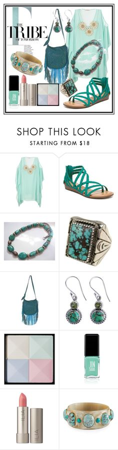 """STYLE 1"" by seus-eky ❤ liked on Polyvore featuring Carlos by Carlos Santana, NOVICA, Givenchy, Jin Soon, Ilia and Ashley Pittman"