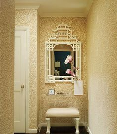 China Seas Arbre de Matisse Reverse wallpaper design by Chloe Warner